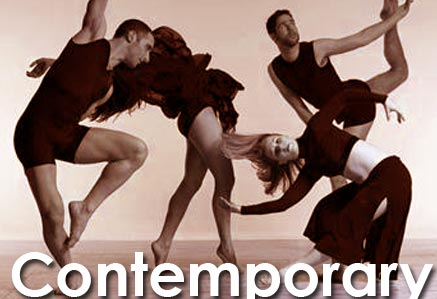 Contemporary dance class tuition