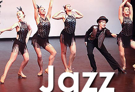 Jazz dance class tuition