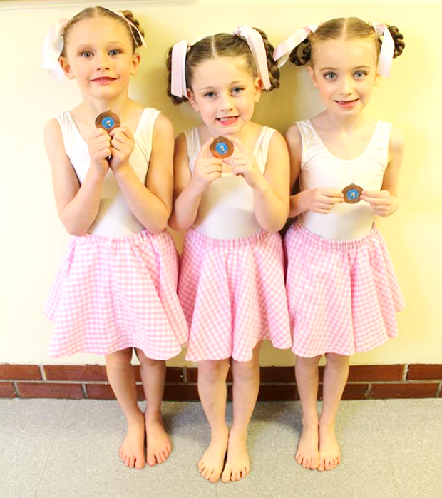 medal winners dance festival competitions